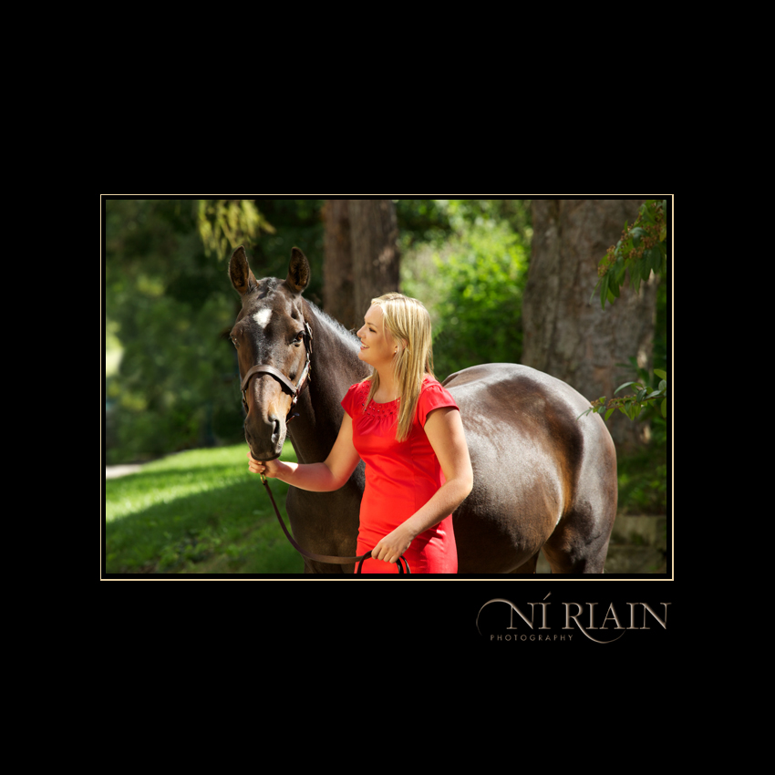 Event rider and Eventing Horse Equine photo shoot by Ni Riain Ph