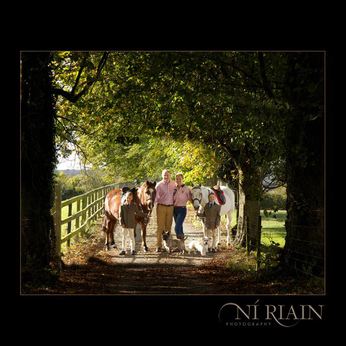 Family portraits Ireland Tipperary Ni Riain Photography