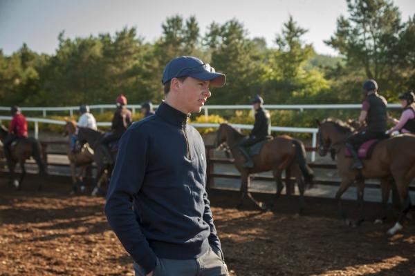 Joseph OBrien Irish Derby winner Latrobe Race Horse Trainer Piltown Kilkenny Ireland