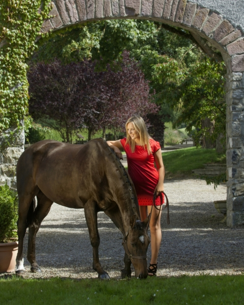 Eventing ireland the Horse photographer Professional Ni Riain Fine Art Equine Photography