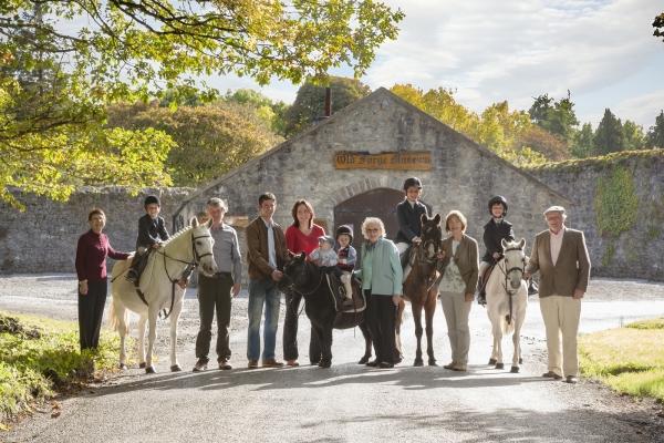 Showjumping Family Beecher Ballinsloe Ireland Ni Riain Horse photographer Ireland